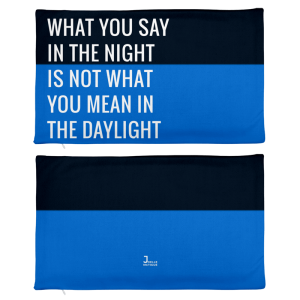 What You Say In The Night Throw Pillowcase joellemctigue.com